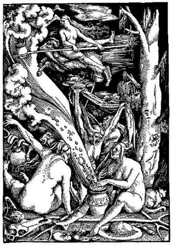 witches lithograph