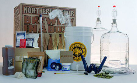 A Northern Brewer home brew kit