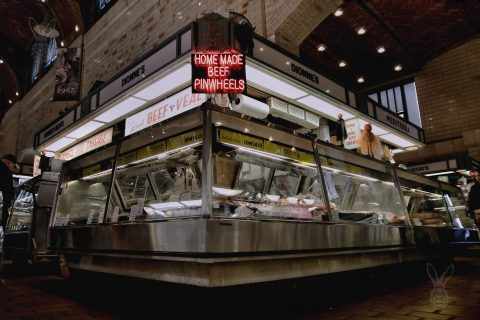 A Stall at West Side Market