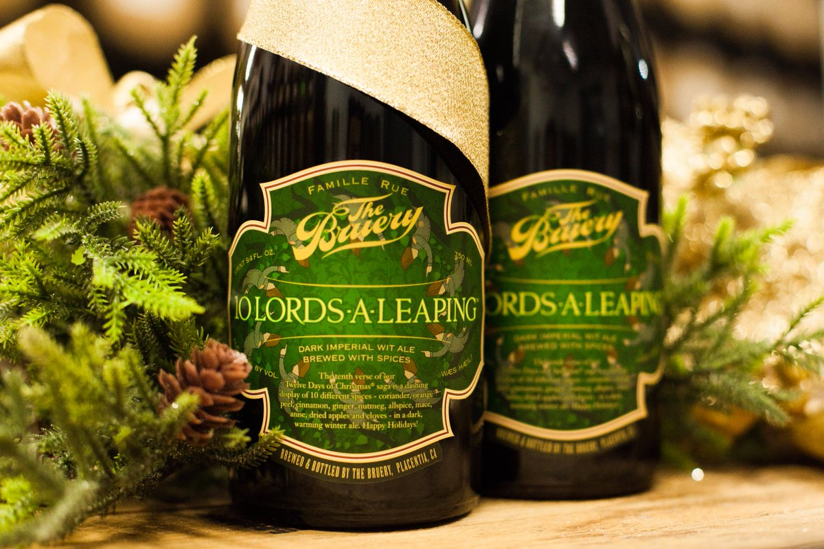 10 Lords a Leeping from the Bruery
