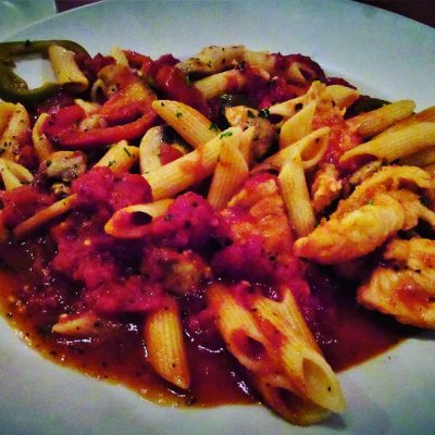 Spicy Italian chicken dish