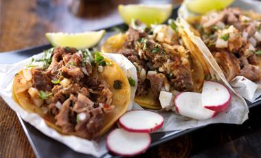 Tacos from El Tapatio in nebraska
