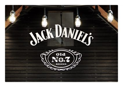 The sign for jack Daniels in Lynchburg, Tn